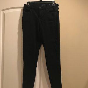 Lucky Brand Black Ava Skinny Jean